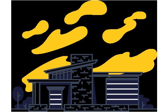 condomínios residenciais