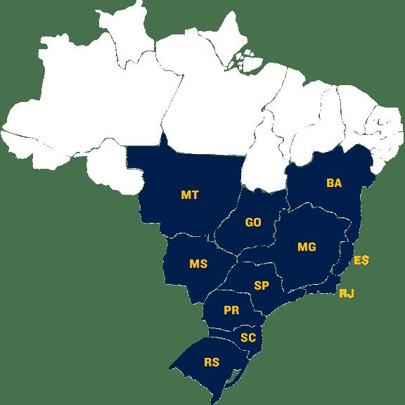 Mapa de Segurança no Brasil